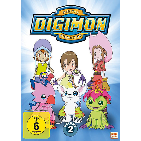DVD Digimon Adventure - Season 1.2