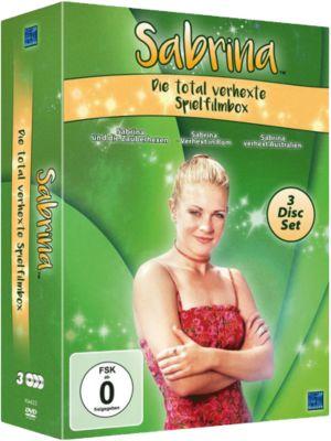 DVD Sabrina - Die total verhexte Spielfilmbox (3 DVDs) Hörbuch
