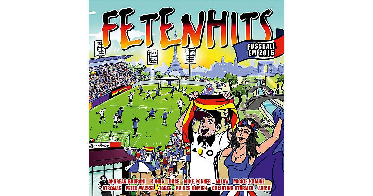 CD Fetenhits Fussball EM 2016