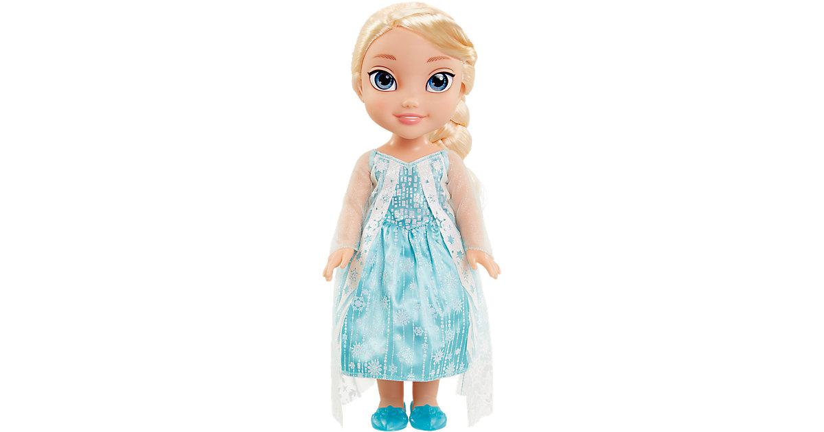 Disney Frozen Elsa Stehpuppe mit Glitzer Cape 35 cm