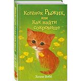 Котёнок Рыжик, или как найти сокровище?