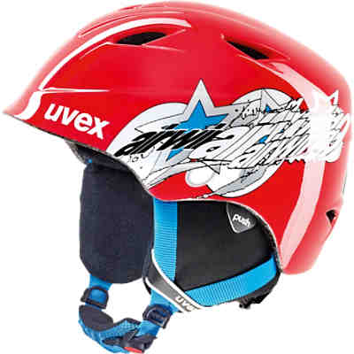 Skihelm airwing 2 red star