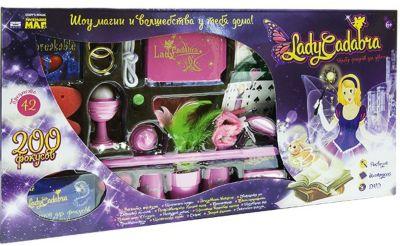 """Набор фокусов для девочек """"Lady Cadabra"""" (200 фокусов)"""