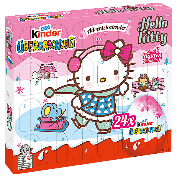 ferrero adventskalender kinder berraschung hello kitty hello kitty mytoys. Black Bedroom Furniture Sets. Home Design Ideas