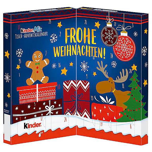 Ferrero tisch adventskalender kinder mix sortiert for Design tisch adventskalender