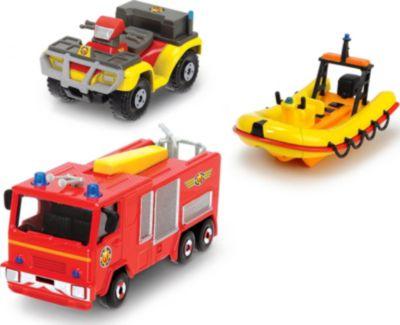 Hubschrauber Feuerwehr Set Hubschrauber Zubehör Feuerwehrauto Fahrzeuge Figuren Feuerwehrmann
