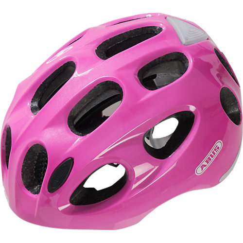 ABUS Fahrradhelm Youn-I sparkling pink Gr. 52-57