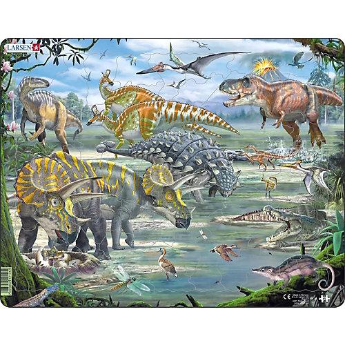 """Пазл Larsen """"Динозавры"""", 65 элементов от Larsen"""
