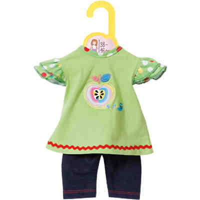 Dolly Moda Puppenkleidung Shirt mit Leggings 38-46 cm