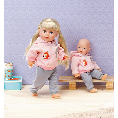 Тренировочный костюмчик Zapf Creation для куклы, 30-36 см. от Zapf Creation