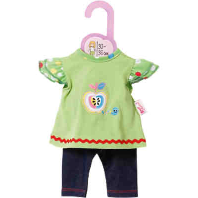Dolly Moda Puppenkleidung Shirt mit Leggings 30-36 cm
