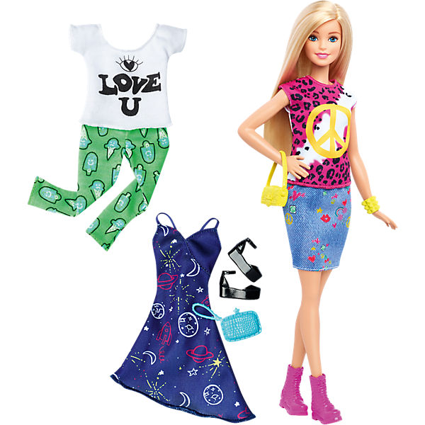 Barbie Fashionistas Style Puppe und Moden Peace & Love