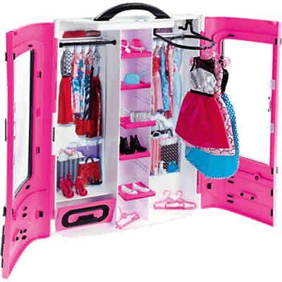 barbie kleiderschrank barbie mytoys. Black Bedroom Furniture Sets. Home Design Ideas