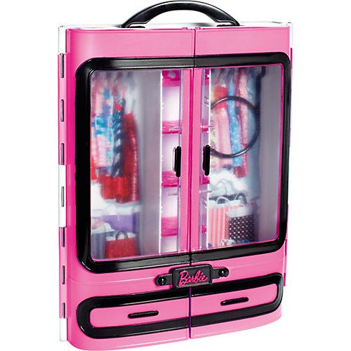 """Мебель для куклы Barbie """"Шкаф модниц"""", розовый от Mattel"""