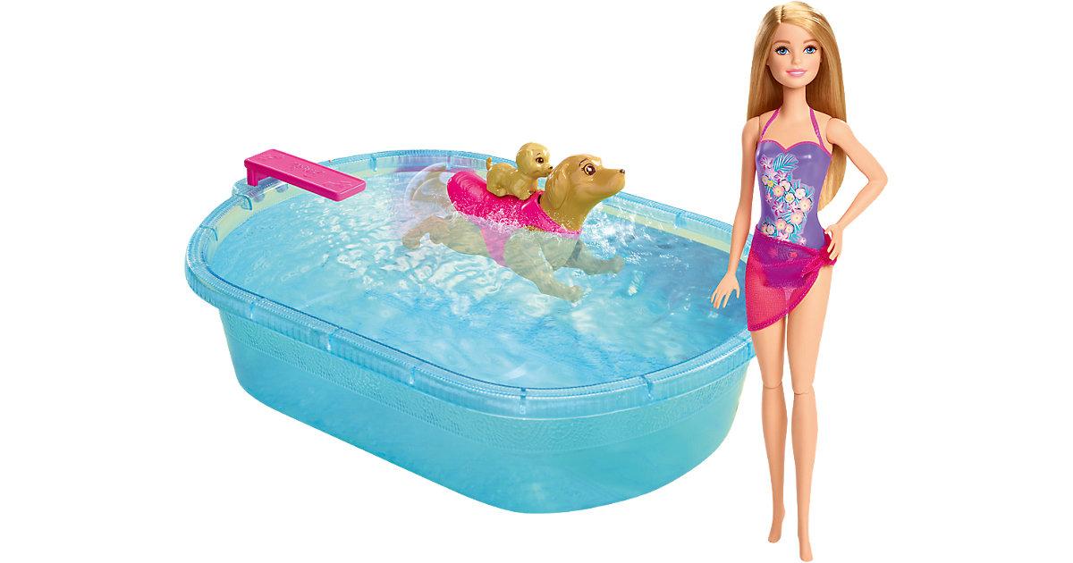 Barbie Die große Hundesuche - Schwimmendes Hündchen & Pool
