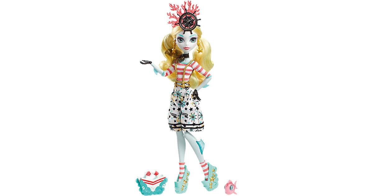 Monster High Gruselschiff Monster-Matrosen Lagoona