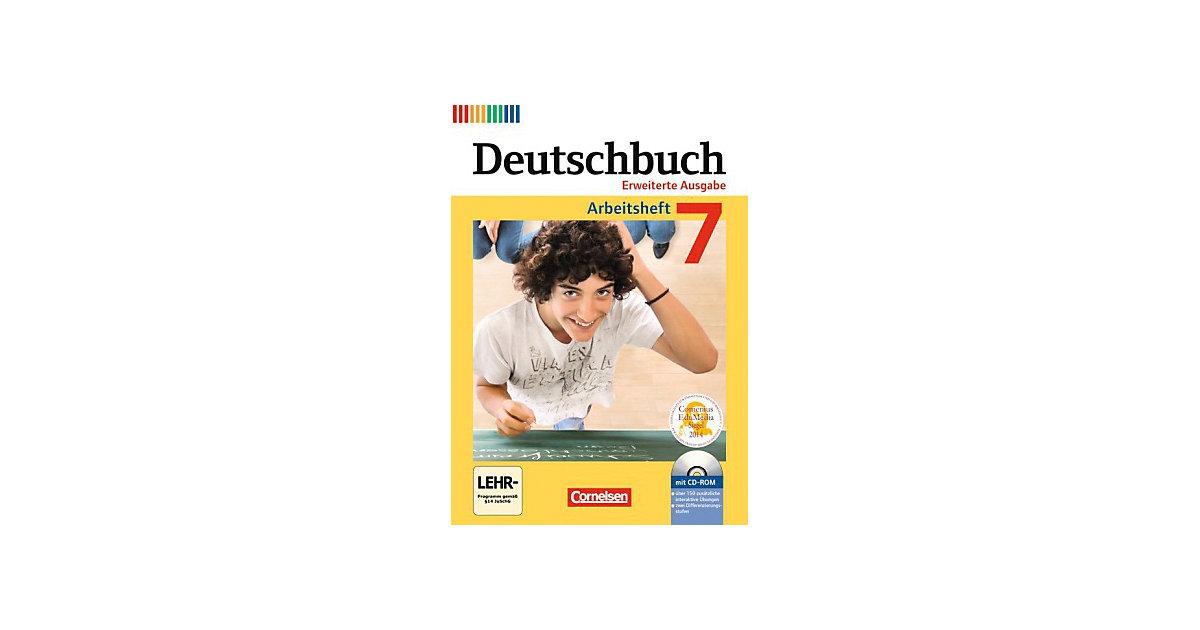 Deutschbuch, Erweiterte Ausgabe: 7. Schuljahr, ...
