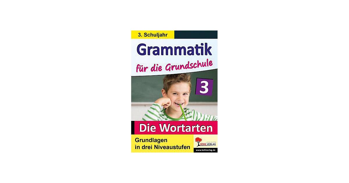 Grammatik die Grundschule, Klasse 3 Kinder