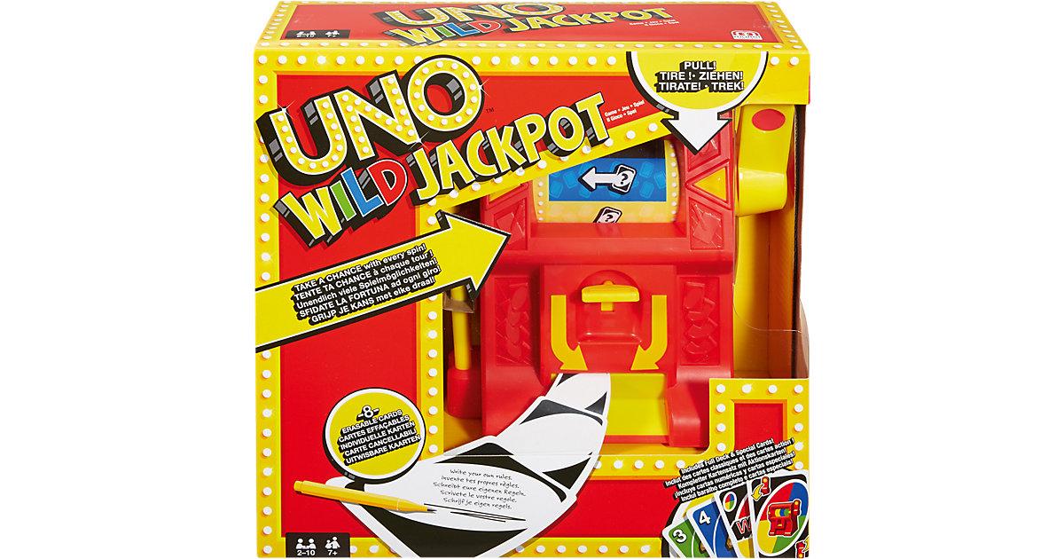 Mattel · MATTEL UNO Wild Jackpot