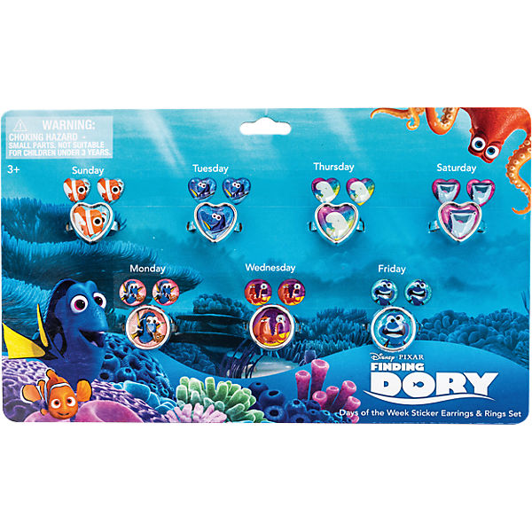 Sticker- Ohrringset Findet Dory