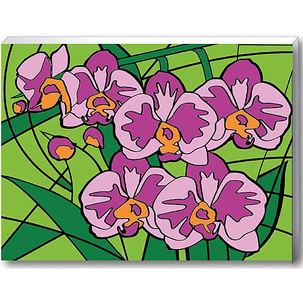 """Роспись по номерам """"Орхидеи"""""""