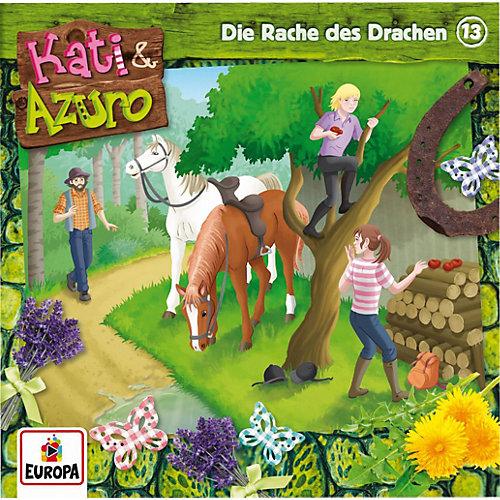 Kati & Azuro - 13/Die Rache Des Drachen (CD) jetztbilligerkaufen