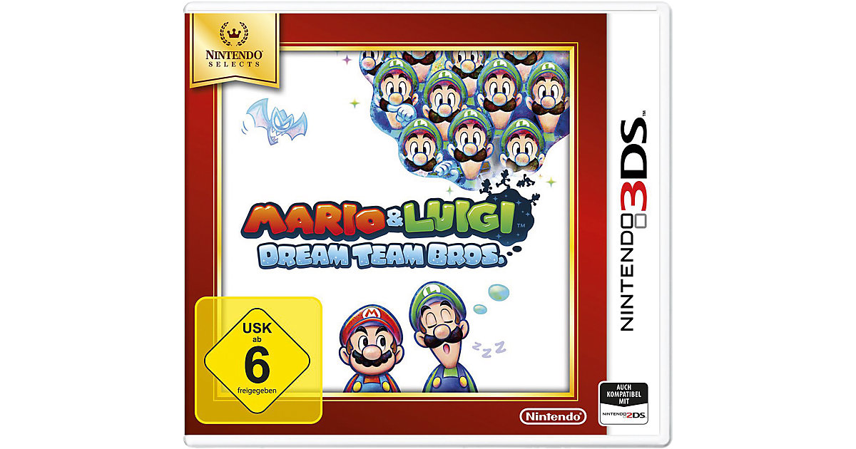 3DS Mario and Luigi: DreamTeam Selects
