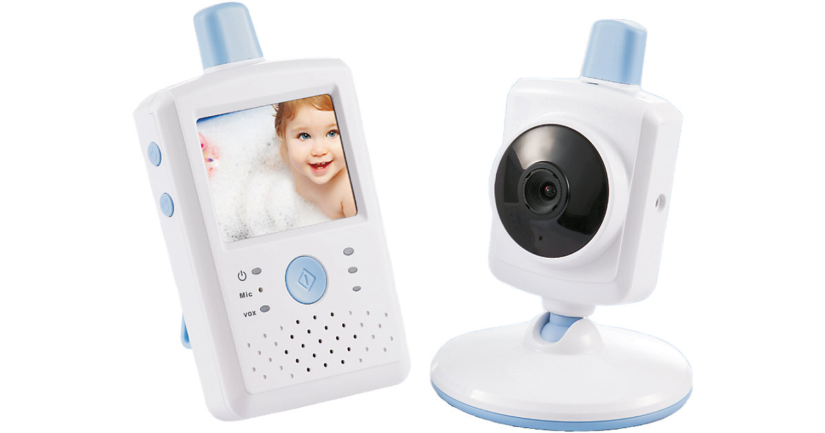 Video Babyphone BCF 867 mit 2,4´´-LCD-Touchscreen