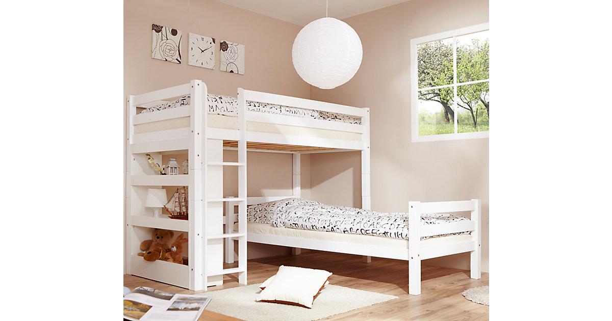 Ticaa Etagenbett Lupo : Bett 90 x 200 buche preisvergleich u2022 die besten angebote online kaufen