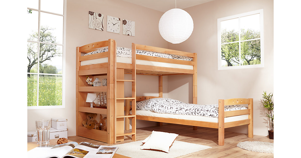 Etagenbett Buche Geölt : Bett 90 x 200 buche preisvergleich u2022 die besten angebote online kaufen