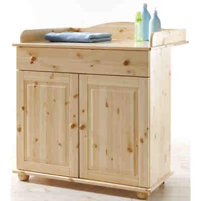 anstellregal f r wickelkommode kiefer massiv natur ticaa mytoys. Black Bedroom Furniture Sets. Home Design Ideas