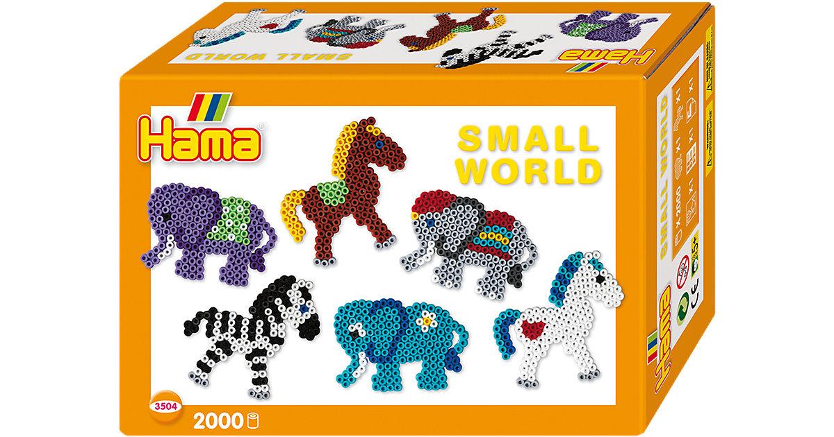 HAMA 3504 Kleine Welt Elefant + Pony, 2.000 mid...