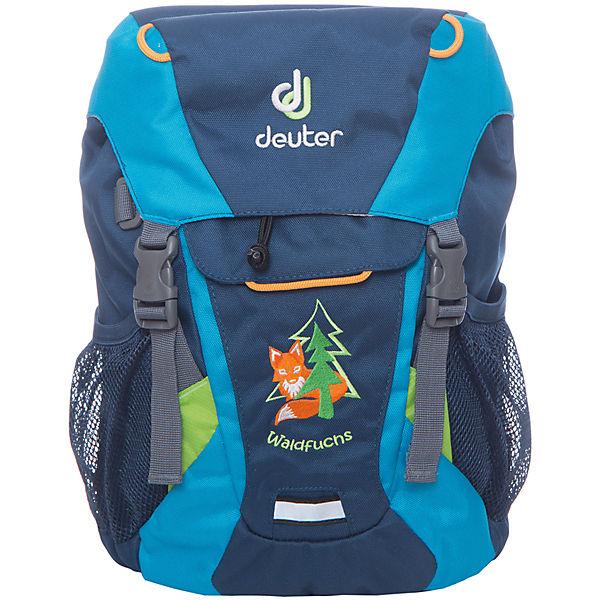 premium selection coupon codes official shop Kinderrucksack WALDFUCHS midnight turquoise, Deuter