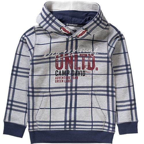 Camp David Sweatshirt mit Kapuze Gr. 140 Jungen Kinder Sale Angebote Neu-Seeland