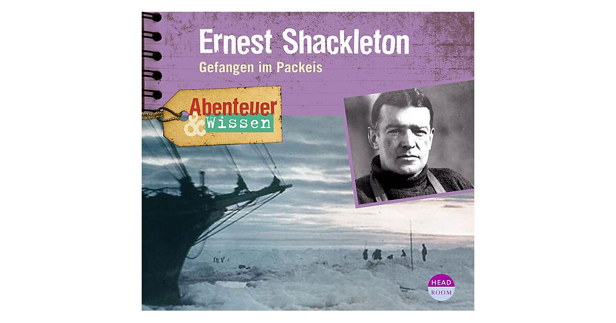 Abenteuer & Wissen: Ernest Shackleton, 1 Audio-CD