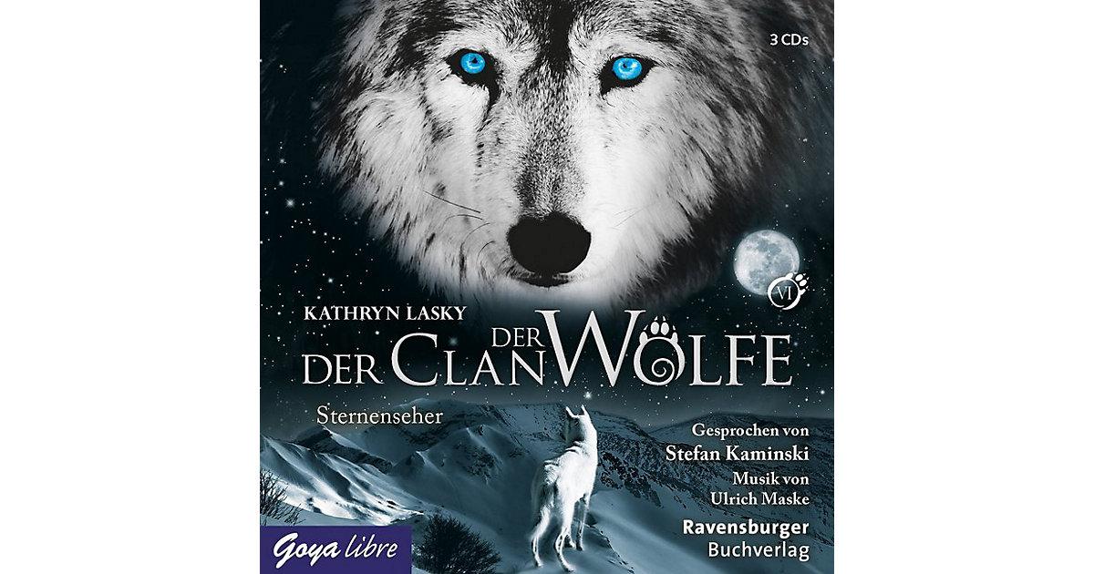 Der Clan der Wölfe: Sternenseher, 3 Audio-CDs Hörbuch