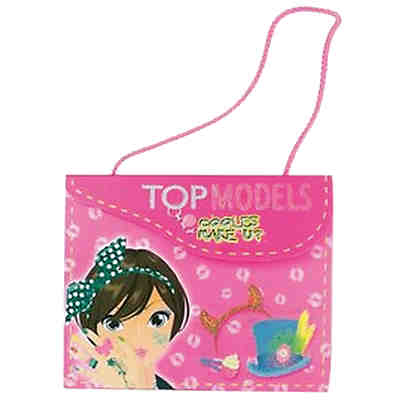 Design-Handtasche Topmodels: Cooles Make-up