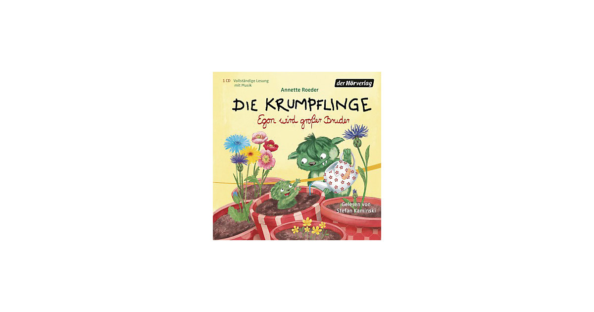 Die Krumpflinge: Egon wird großer Bruder, 1 Aud...