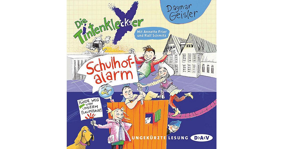 Die Tintenkleckser: Schulhof-Alarm, 1 Audio-CD
