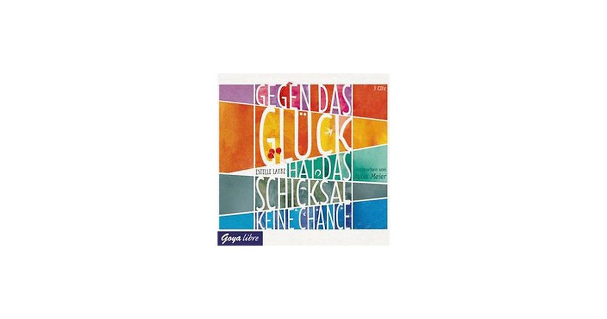 Gegen das Glück hat das Schicksal keine Chance, 3 Audio-CDs Hörbuch