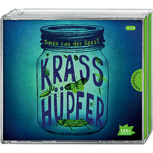 Krasshüpfer, 1 Audio-CD