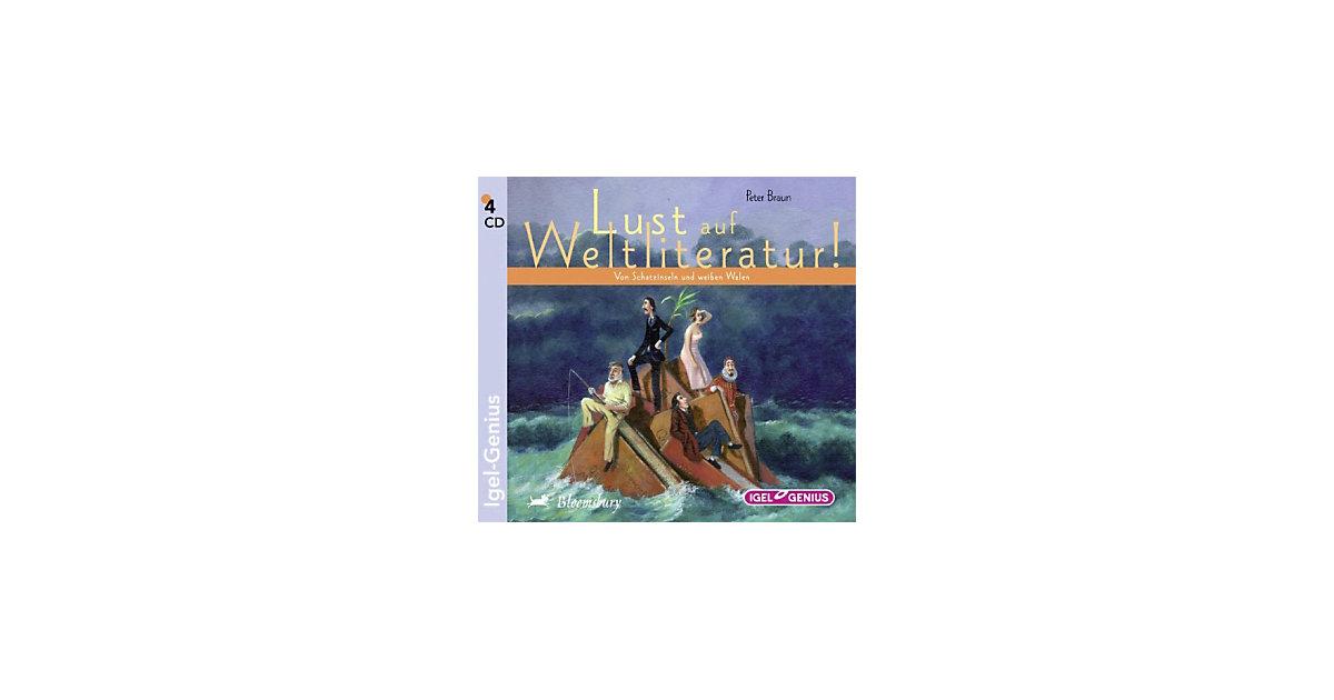 Lust auf Weltliteratur! 4 Audio-CDs