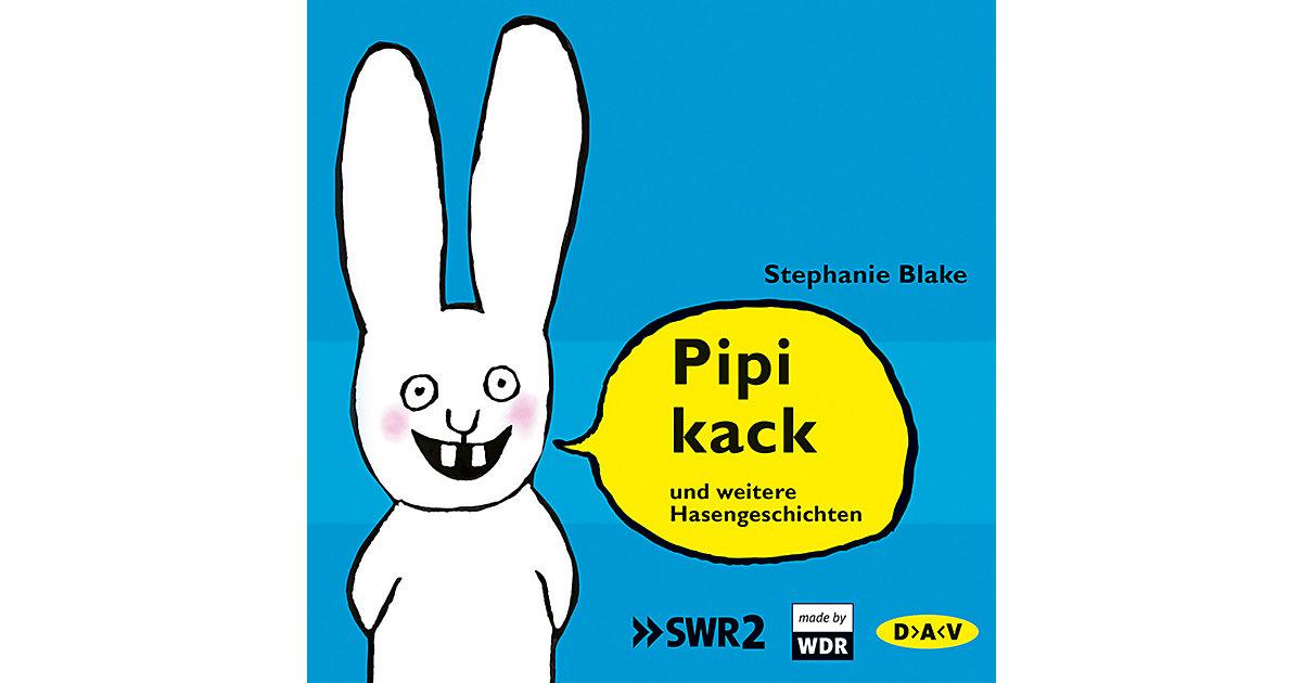 Pipikack und weitere Hasengeschichten, 1 Audio-CD