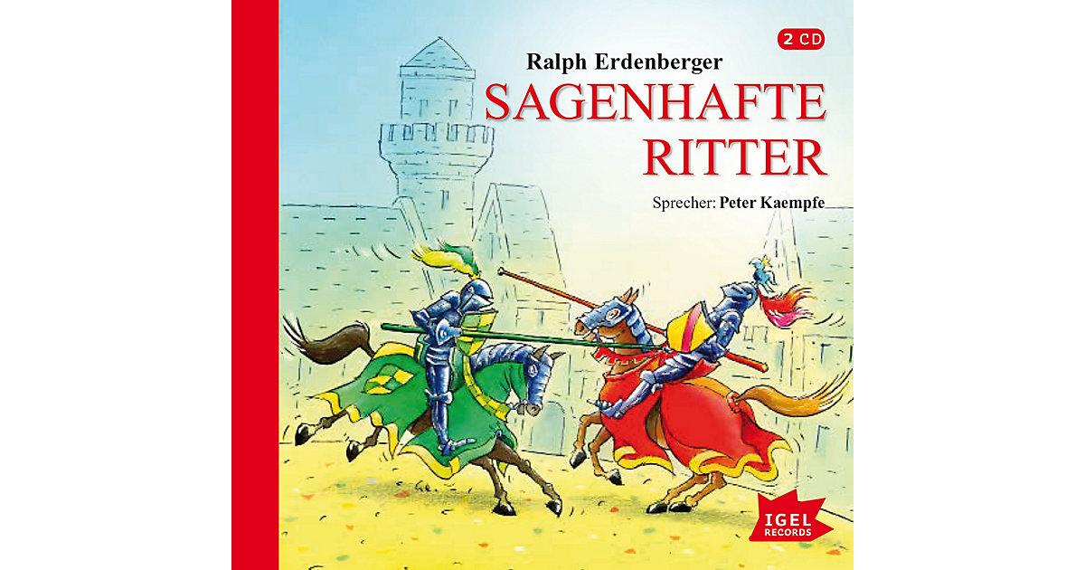 Sagenhafte Ritter, 1 Audio-CD