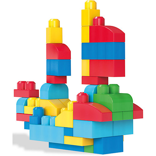 Конструктор Mega Blocks First Builders, 60 деталей от MEGA BLOKS