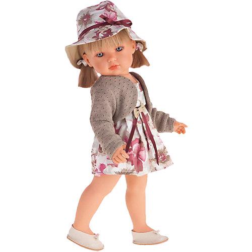 Белла в шляпке, блондинка, 45 см, Munecas Antonio Juan от Munecas Antonio Juan