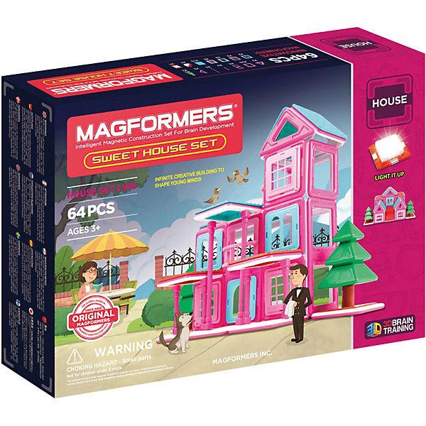 Магнитный конструктор Sweet House, MAGFORMERS