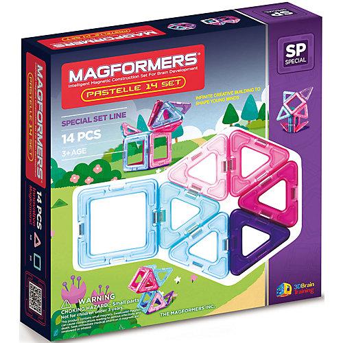 Магнитный конструктор Pastelle, MAGFORMERS от MAGFORMERS