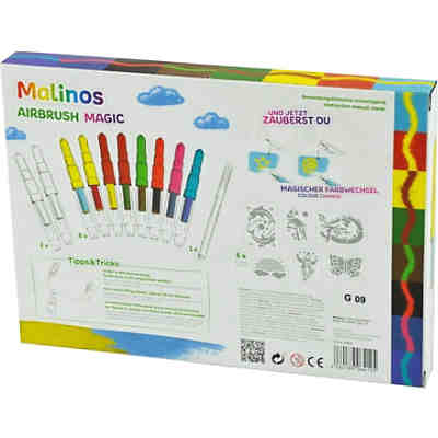 Malinos Airbrush Magic 10 + Extras