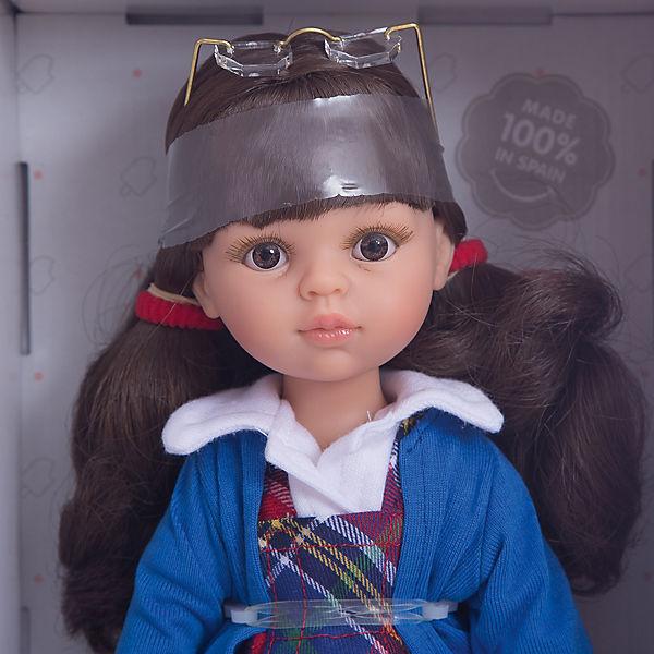 Кукла Paola Reina Кэрол школьница, 32 см